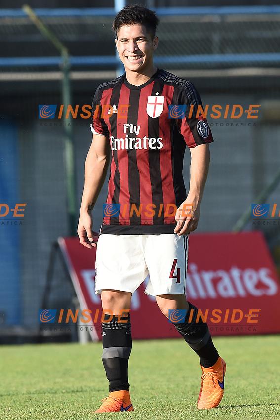 Solbiate Arno (Va) 10/07/2015 - amichevole / Milan-Alcione / foto Matteo Gribaudi/Image Sport/Insidefoto<br /> nella foto: Jose' Mauri