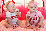 6 month session TWINS | Finley & Easton Feb 2015