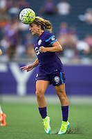 Orlando, FL - Sunday July 10, 2016: Camille Levin during a regular season National Women's Soccer League (NWSL) match between the Orlando Pride and the Boston Breakers at Camping World Stadium.