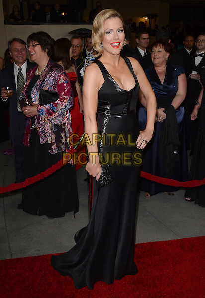 Kathleen Robertson.64th Annual Directors Guild Of America Awards  held at Hollywood and Highland, Los Angeles, California, USA..January 28th, 2012.full length dress hand on hip black cleavage   .CAP/ADM/BP.©Byron Purvis/AdMedia/Capital Pictures.