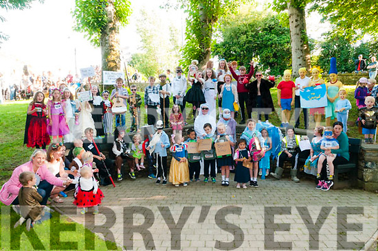 Tarbert Fancy Dress: The children who took part in the fancy dress parade on Saturday evening last .