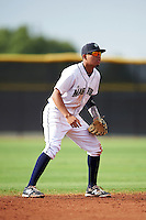 Seattle Mariners Rayder Ascanio (5) during an instructional league intrasquad game on October 6, 2015 at the Peoria Sports Complex in Peoria, Arizona.  (Mike Janes/Four Seam Images)