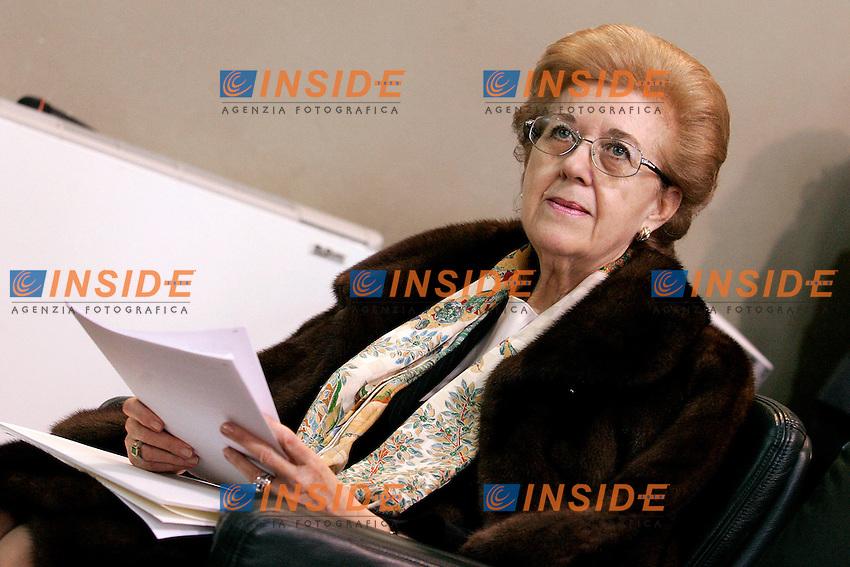 ANNA MARIA TARANTOLA.Roma 15/02/2011 Abi Convegno dal titolo L'autonomia della Politica Monetaria..Photo Samantha Zucchi Insidefoto