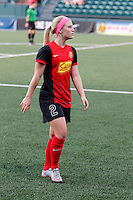 Rochester, NY - Friday May 27, 2016: Western New York Flash midfielder Michaela Hahn (2). The Western New York Flash defeated the Boston Breakers 4-0 during a regular season National Women's Soccer League (NWSL) match at Rochester Rhinos Stadium.