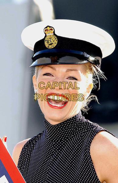 NELL McANDREW.Ref: WIZ.captain hat, headshot, portrait.www.capitalpictures.com.sales@capitalpictures.com.©Capital Pictures