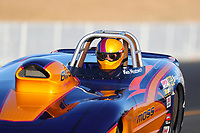Jul 28, 2017; Sonoma, CA, USA; NHRA super gas driver Ken Mostowich during qualifying for the Sonoma Nationals at Sonoma Raceway. Mandatory Credit: Mark J. Rebilas-USA TODAY Sports