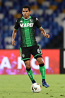 Rogerio US Sassuolo<br /> during the Serie A football match between SSC  Napoli and US Sassuolo at stadio San Paolo in Naples ( Italy ), July 25th, 2020. Play resumes behind closed doors following the outbreak of the coronavirus disease. <br /> Photo Cesare Purini / Insidefoto