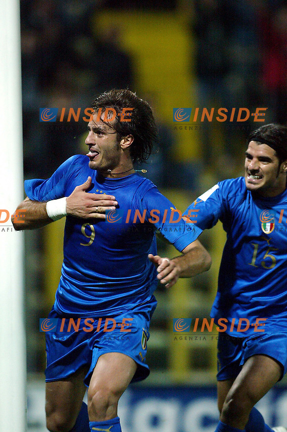 Parma 13/10/2004 World Cup Germany 2006 Qualifying <br />