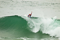 """JEFFREYS BAY, South Africa (Saturday, July 23, 2011) - The Billabong Pro Jeffreys Bay, Event No. 4 of 11 on the 2011 ASP World Title season recommenced this morning with Round 3 at 7:15am in consistent four-to-six foot (1.5 metre) surf.. .After navigating a period of tricky swell, event organizers had been greeted with excellent conditions this morning, opening with Round 3 of competition and following with Rounds 4 and 5.. .""""It's been a lengthy wait but we're excited to have such good surf on offer today and will be making the most of it,"""" Rich Porta, ASP International Head Judge, said. .Surfline, official forecasters for the Billabong Pro Jeffreys Bay, are calling for a solid SSW push through the day.. .  Photo: joliphotos.com"""
