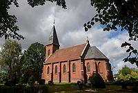 GERMANY, church in village / DEUTSCHLAND, Mecklenburg-Vorpommern, Dorf Lutheran, evangelische Kirche mit Friedhof