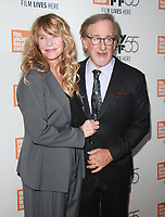 NEW YORK, NY October 05, 2017Kate Capshaw, Steven Spielberg, attend  55th New York Film Festival present World Premiere of HBO's Spielberg at Alice Tully Hall in New York October 05,  2017.<br /> CAP/MPI/RW<br /> &copy;RW/MPI/Capital Pictures