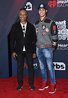 11 March 2018 - Inglewood, California - Ray Parker, Jr., Jericho Parker. 2018 iHeart Radio Awards held at The Forum. <br /> CAP/ADM/BT<br /> &copy;BT/ADM/Capital Pictures