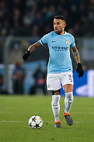 Manchester City's Nicolas Otamendi in action <br /> <br /> Photographer Craig Mercer/CameraSport<br /> <br /> UEFA Champions League Round of 16 First Leg - Basel v Manchester City - Tuesday 13th February 2018 - St Jakob-Park - Basel<br />  <br /> World Copyright &copy; 2018 CameraSport. All rights reserved. 43 Linden Ave. Countesthorpe. Leicester. England. LE8 5PG - Tel: +44 (0) 116 277 4147 - admin@camerasport.com - www.camerasport.com