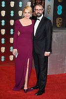 JK Rowling &amp; Neil Murray at the 2017 EE British Academy Film Awards (BAFTA) held at The Royal Albert Hall, London, UK. <br /> 12 February  2017<br /> Picture: Steve Vas/Featureflash/SilverHub 0208 004 5359 sales@silverhubmedia.com