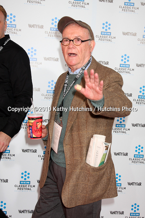 ".Buck Henry.arrives at the ""A Star is Born"" Restored Print World Premiere , part of the Turner Classic Movie Channel Classic Movie Festival.Grauman'S Chinese.Los Angeles, CA.April 22, 2010.©2010 Kathy Hutchins / Hutchins Photo..."