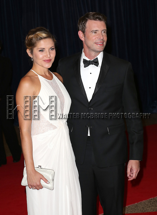 Marika Dominczyk and Scott Foley attends the 100th Annual White House Correspondents' Association Dinner at the Washington Hilton on May 3, 2014 in Washington, D.C.