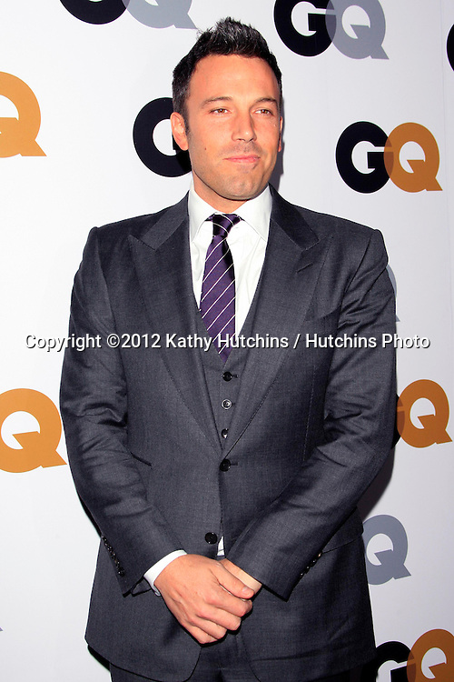 LOS ANGELES - NOV 13:  Ben Affleck arrives to the GQ Men Of The Year Party at Chateau Marmont on November 13, 2012 in Los Angeles, CA