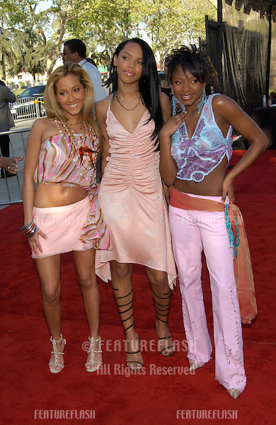 Pop group 3LW at the 16th Annual Soul Train Music Awards in Los Angeles..20MAR2002.  © Paul Smith / Featureflash