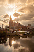Sunset Reflections in Nashville