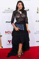 PASADENA, CA, USA - OCTOBER 10: Yvette Yates arrives at the 2014 NCLR ALMA Awards held at the Pasadena Civic Auditorium on October 10, 2014 in Pasadena, California, United States. (Photo by Celebrity Monitor)