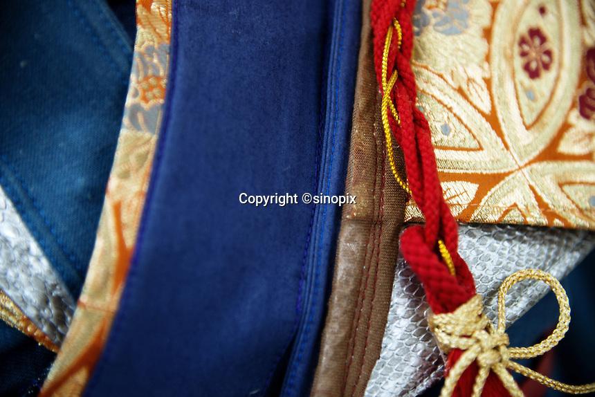 MAY 15, 2014 - KURASHIKI, JAPAN: Kurashiki fashion college. (Photograph / Ko Sasaki)