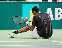 12-02-13, Tennis, Rotterdam, ABNAMROWTT, Gael Monfils