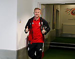 Mark Duffy of Sheffield Utd arrives during the English Championship League match at Bramall Lane Stadium, Sheffield. Picture date: August 5th 2017. Pic credit should read: Simon Bellis/Sportimage
