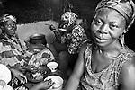 Way of life. Nyagbor Sroe village, the Volta Region.