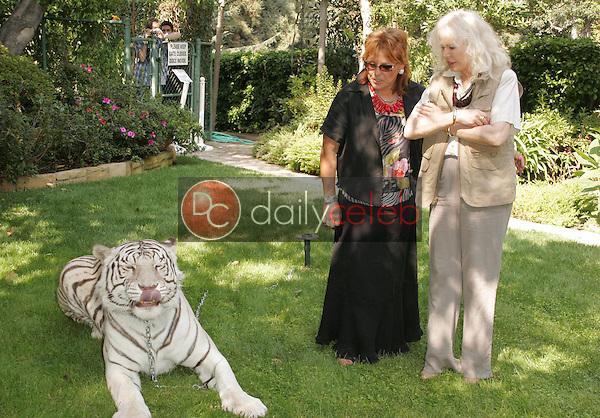 Martine Colette and Loretta Swit<br />at the 11th Annual Wildlife Waystation Safari Brunch Benefit. Playboy Mansion, Los Angeles, CA. 10-08-05.<br />Dave Edwards/DailyCeleb.com 818-249-4998