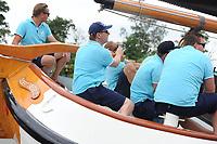 ZEILSPORT: EARNEWÂLD: 08-08-2017, SKS Skûtsjesilen, winnaar schipper skûtsje Akkrum Pieter Meeter, ©foto Martin de Jong
