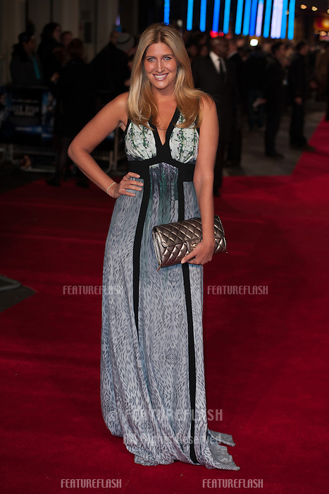 Cheska Hull arriving for the UK Premiere of Jack Ryan, at Vue Leicester Square, London. 20/01/2014 Picture by: Dave Norton/ Featureflash