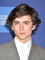 PALM SPRINGS, CA - JANUARY 03: Timothee Chalamet attends the 30th Annual Palm Springs International Film Festival Film Awards Gala at Palm Springs Convention Center on January 3, 2019 in Palm Springs, California.<br /> CAP/ROT/TM<br /> &copy;TM/ROT/Capital Pictures
