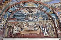 BG41184.JPG BULGARIA, RILA MONASTERY, CHURCH OF NATIVITY, frescoes