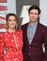 "29 March 2019 - Hollywood, California - Leighton Meester, Adam Brody. Warner Bros. Pictures And New Line Cinema's World Premiere Of ""SHAZAM!""  held at TCL Chinese Theatre IMAX. <br /> CAP/ADM/FS<br /> ©FS/ADM/Capital Pictures"