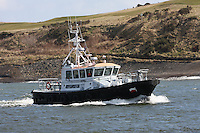 Sea Haven pilot vessel returning to Aberdeen Harbour on 9.4.13.