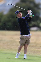 Brendan Lawlor (International) on the 1st fairway during the ISPS HANDA Disabled Golf Cup at the Presidents Cup 2019, Royal Melbourne Golf Club, Melbourne, Victoria, Australia. 13/12/2019.<br /> Picture Thos Caffrey / Golffile.ie<br /> <br /> All photo usage must carry mandatory copyright credit (© Golffile   Thos Caffrey)