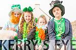 Bethany Moroney, Ciara Geaney, Sasha Sheehy and Eddie Sheehy (from Dingle) enjoying Saint Patrick's Parade in Dingle.