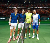 Rotterdam, The Netherlands, 17 Februari, 2018, ABNAMRO World Tennis Tournament, Ahoy, Tennis, Pierre-Hugues Herbert (FRA) / Nicolas Mahut (FRA), Ivan Dodig (CRO) / Rajeev Ram (USA)<br /> <br /> Photo: www.tennisimages.com