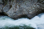 The Little River near Cades Cove, Great Smoky Mountains National Park, TN, USA