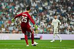 Real Madrid's Thibaut Courtois during La Liga match. September 01, 2018. (ALTERPHOTOS/A. Perez Meca)
