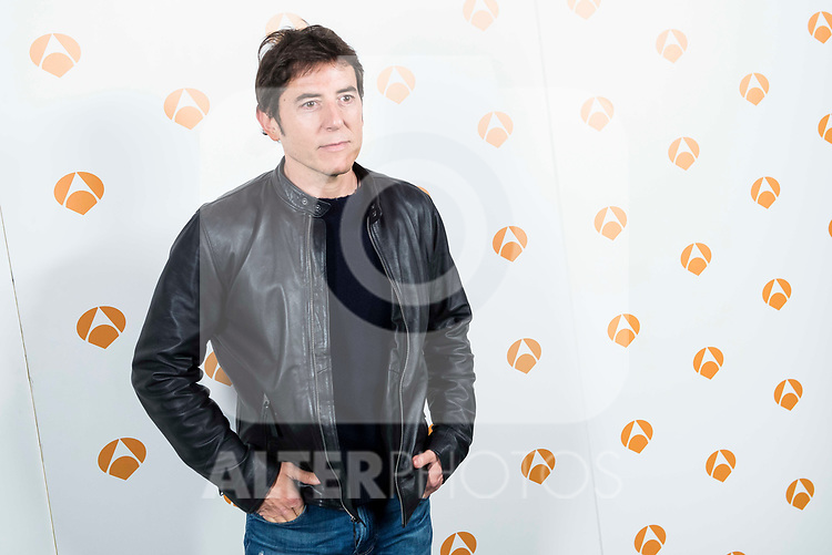 "Manel Fuentes during the presentation of the new TV program of Antena 3, ""Tu cara no me suena"" at  Teatro Gran Maestre in Madrid. March 08, 2017. (ALTERPHOTOS/Borja B.Hojas)"