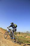 Israel, Negev, cycling in Beeri