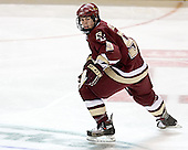 Nathan Gerbe - The Boston College Eagles defeated the Miami University Redhawks 5-0 in their Northeast Regional Semi-Final matchup on Friday, March 24, 2006, at the DCU Center in Worcester, MA.