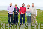 GOLF; Playing in the Oyster Tavern, Tha Spa, golf tourment on Sunday at Tralee Golf Club, Barrow l-r : Tony Johnson, Deirdre McElligott, Philip O'Sullivan, Mary and Richard Barrett.