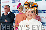 Aoibhne McElhinney, from Whites Cross, Cork, who won the Jazziest Headpiece