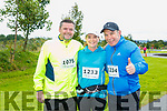 At the Rose of Tralee 10k in the Tralee Wetlands on Sunday were Chris Lynch, Ann Sicat and Philip Sicat