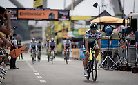 Peter Sagan (SVK/Bora-Hansgrohe) finishing the morning course reconnaissance <br /> <br /> Stage 2 (TTT): Brussels to Brussels(BEL/28km) <br /> 106th Tour de France 2019 (2.UWT)<br /> <br /> ©kramon
