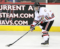 Nebraska-Omaha's Jayson Megna (11). Colorado College defeated Nebraska-Omaha 5-2 Saturday night at CenturyLink Center in Omaha. (Photo by Michelle Bishop) .