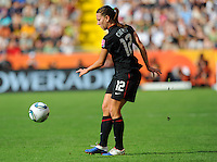 Lauren Cheney during the FIFA Women's World Cup at the FIFA Stadium in Dresden, Germany on July 10th, 2011.