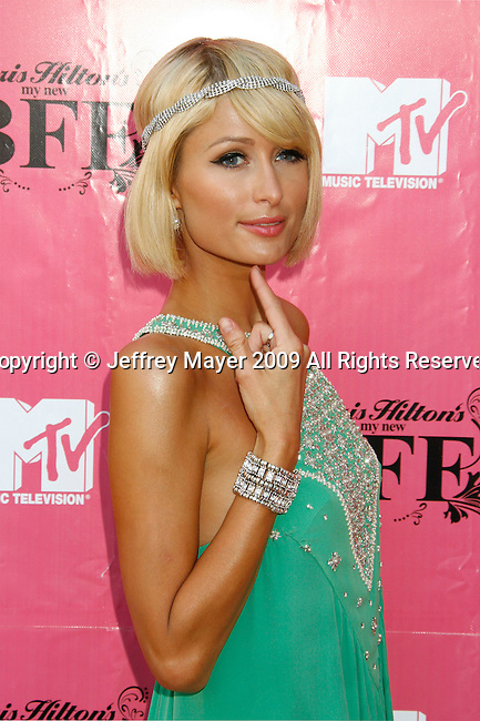LOS ANGELES, CA. - May 15: Paris Hilton attends Paris Hilton's My New BFF Season 2 - Press Conference at the Barron  Hilton Estate on May 15, 2009 in Los Angeles, California.